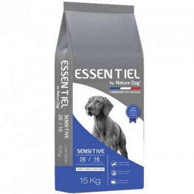 Croquettes essentiel sensitive 2616 low grain nature dog 15kg