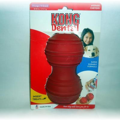Dental KONG rouge