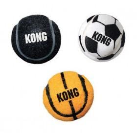Lot 3 balles kong sport